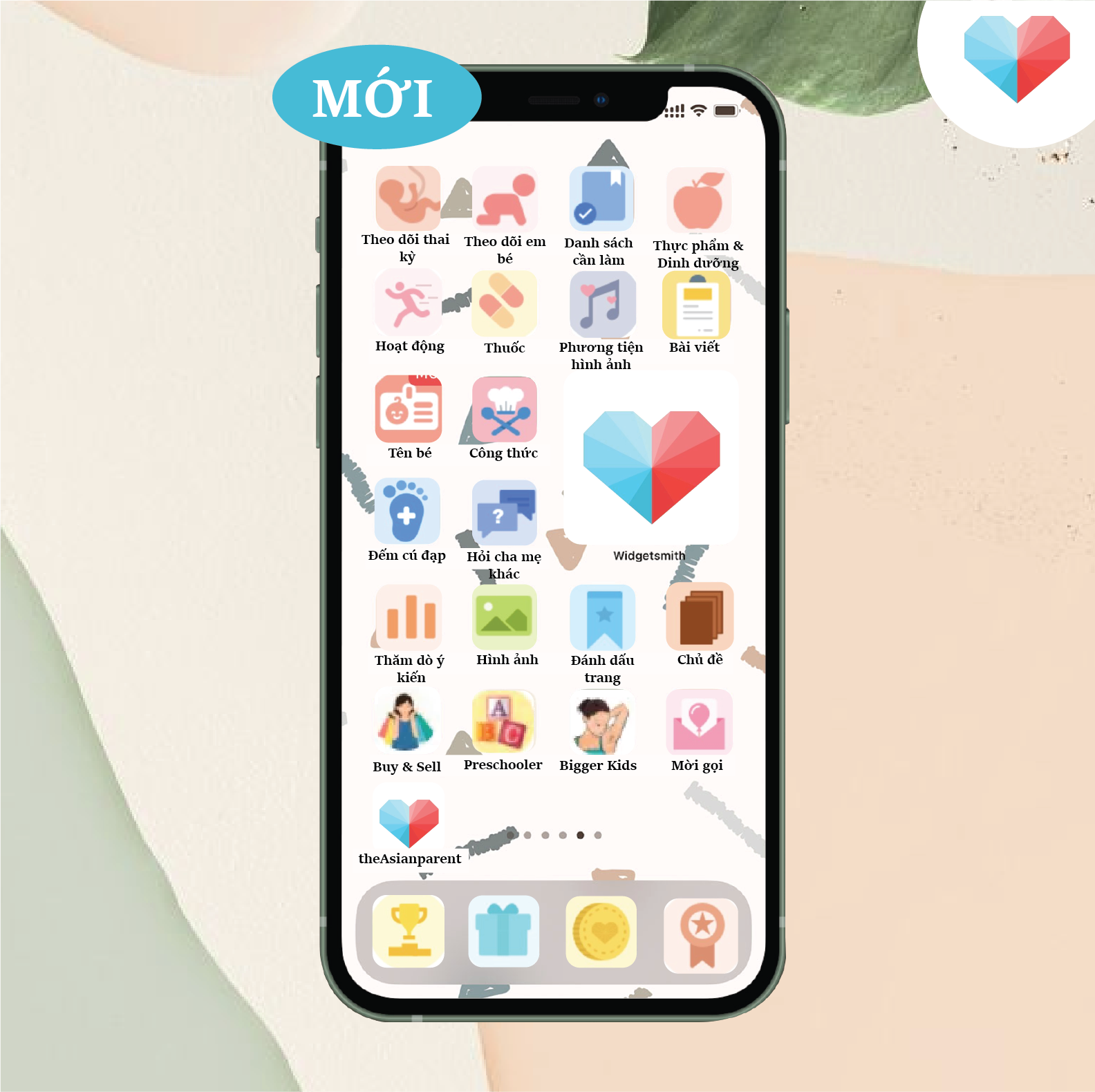 Tính Năng App
