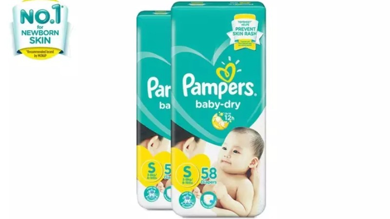 Pampers Baby Dry Tape