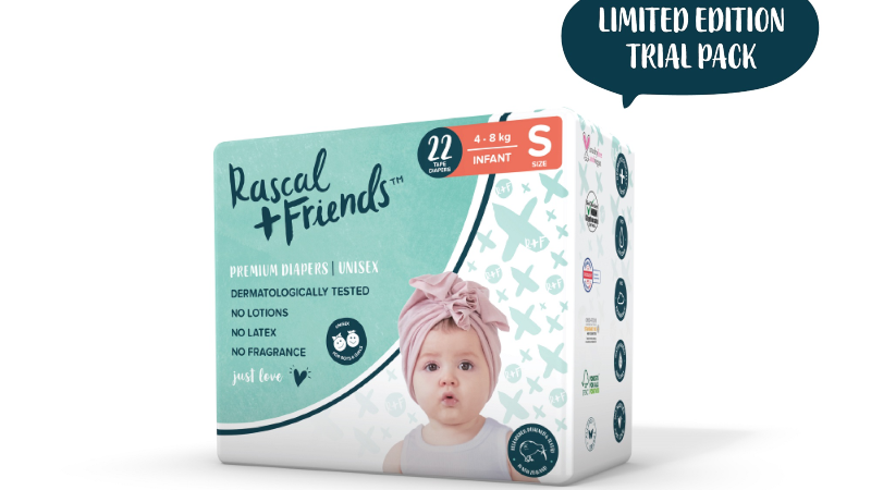 Rascal + Friends Tape Trial Pack Small