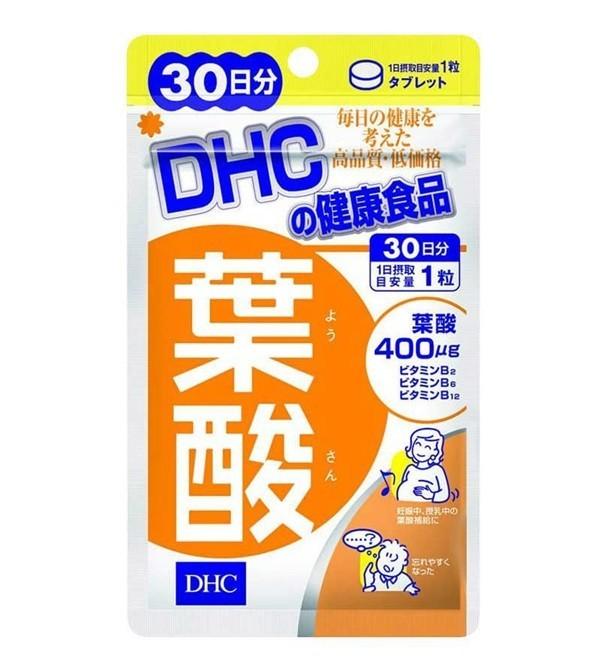 Viên uống vitamin cho bà bầu DHC Folic Acid - 69.000đ
