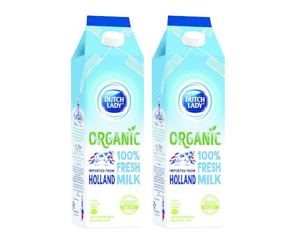 Sữa Tươi Tiệt Trùng Dutch Lady Cô Gái Hà Lan Organic - 56.000đ