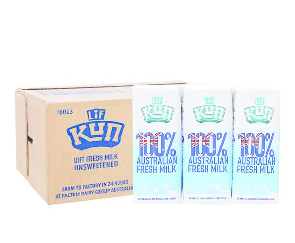 Sữa Tươi Lif 100% Nguyên Chất Không Đường - 420.000đ/thùng