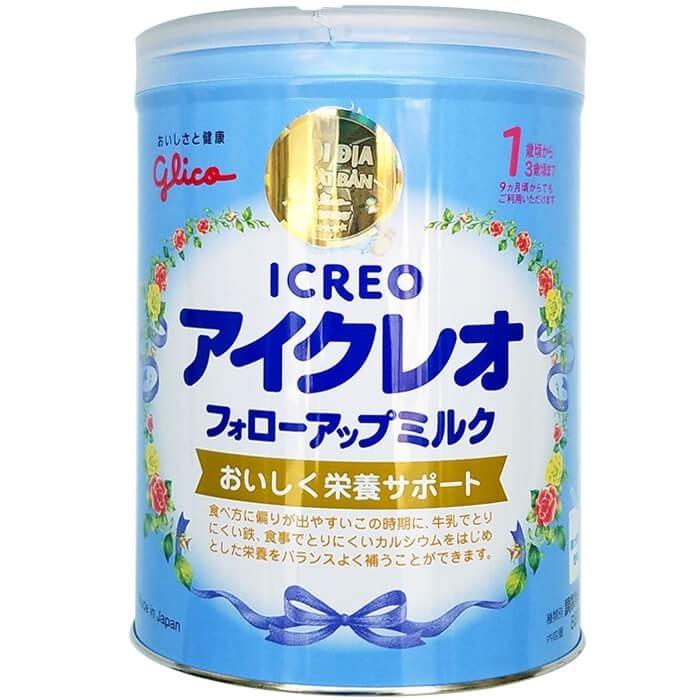 Thực phẩm bổ sung Glico Icreo số 1 820g (1-3 tuổi) - 495.000đ