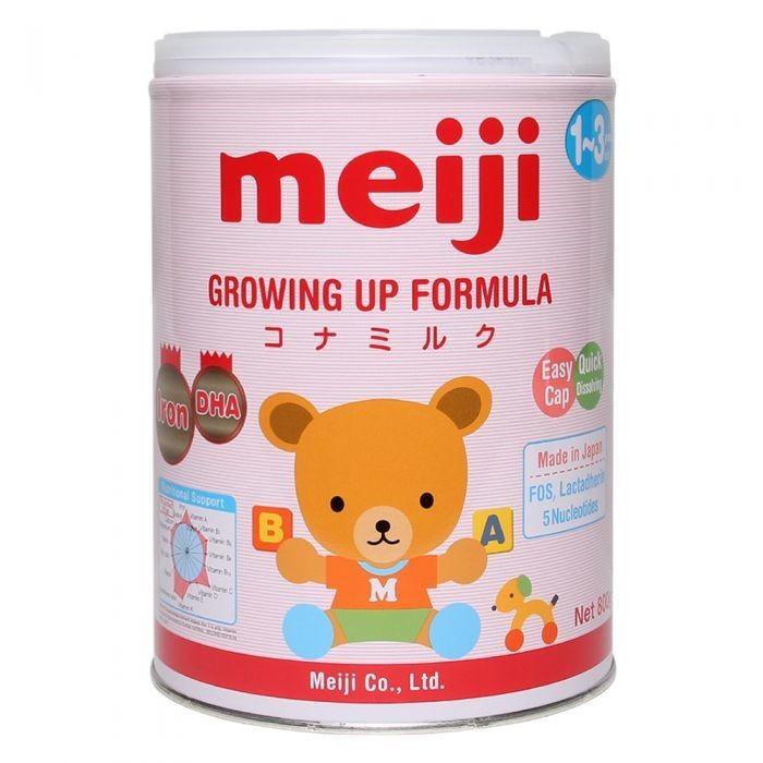 Sữa bột Nhật Meiji Growing up Formula 800g (1-3 tuổi) - 329.000đ - 459.000đ