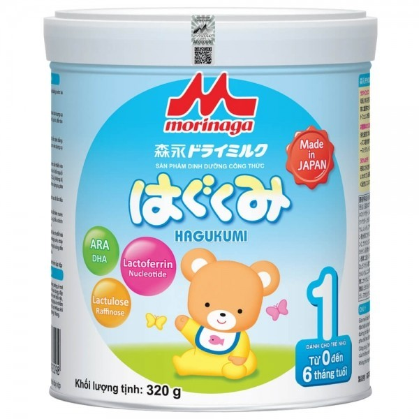 Sữa bột Nhật Morinaga số 1 (Hagukumi) (0-6 tháng) - 245.000đ - 549.000đ