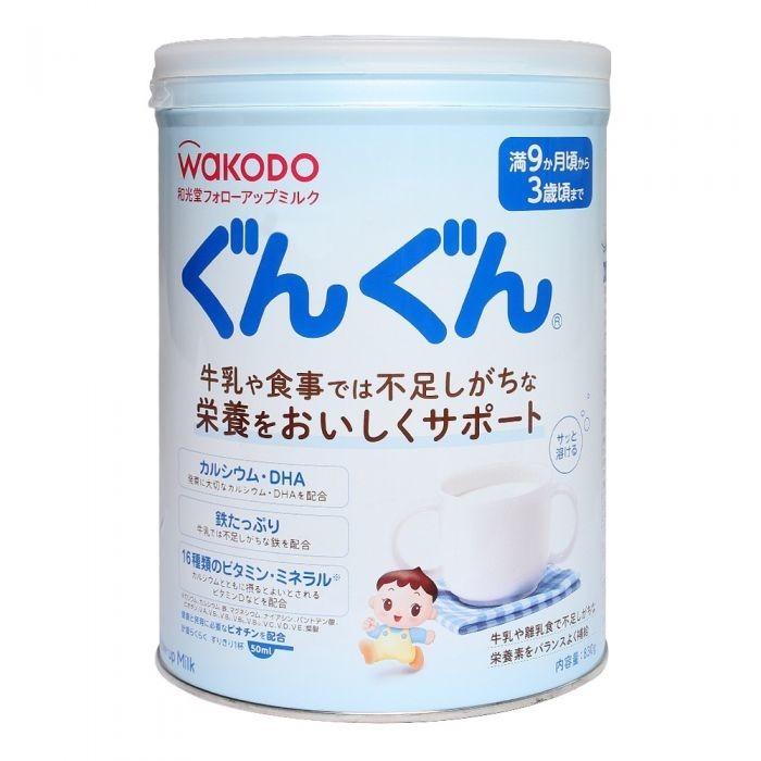 Sữa Bột Wakodo Nội Địa Gungun Infant Formula Dành Cho Trẻ Từ 9 - 36 Tháng - 409.000đ
