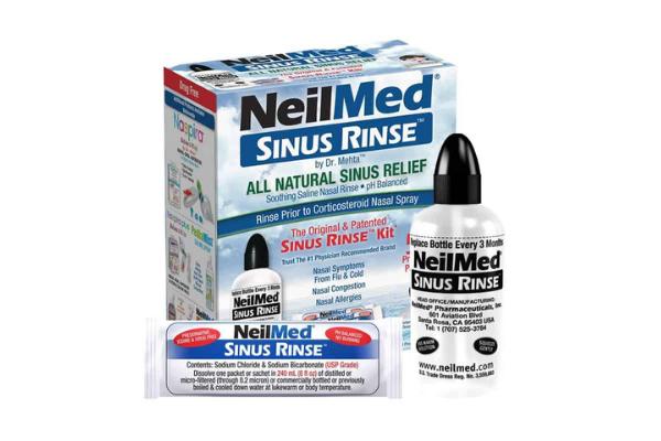 Bộ dụng cụ bình xịt rửa mũi xoang Neilmed Sinus - 374.000đ