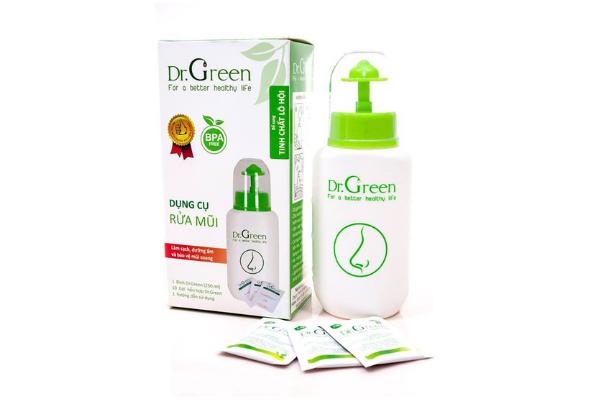 Bình rửa mũi cho trẻ Dr. Green Kids - 220.000đ