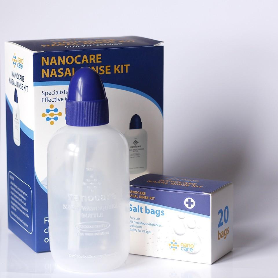 Bình rửa mũi Nano Care Full Kit - 85.000đ