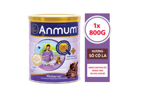Sữa Bột Anmum Materna Hương Chocolate - 409.000đ