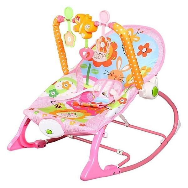 Ghế nhún có phát nhạc cho bé từ sơ sinh đến 18kg - 419.000đ