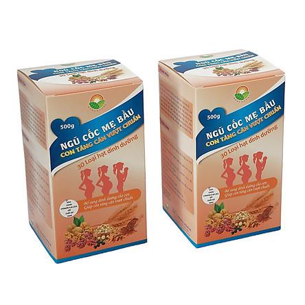 Ngũ cốc mẹ bầu - Con tăng cân vượt chuẩn - 30 loại hạt dinh dưỡng (500g) - 399.000đ