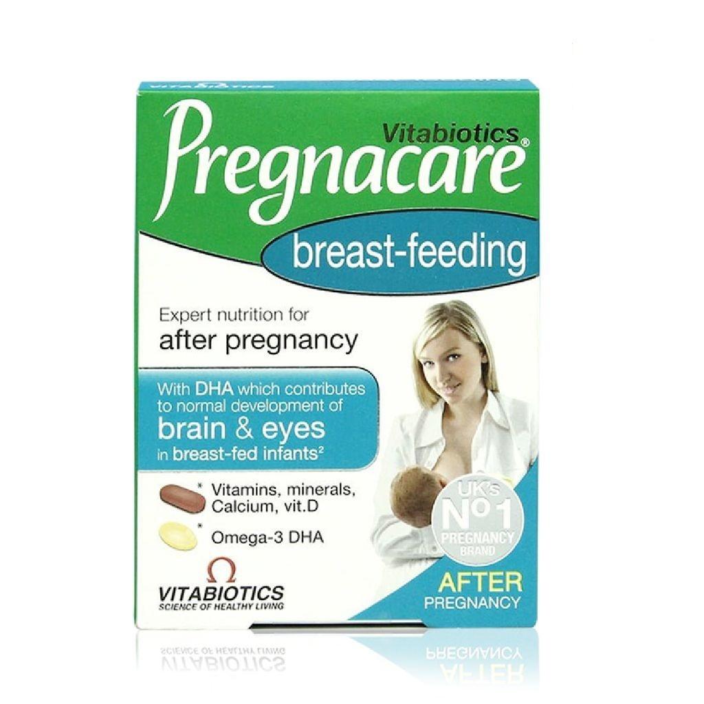 Vitamin tổng hợp sau sinh Pregnacare Breast-feeding 84 viên - 365.500đ
