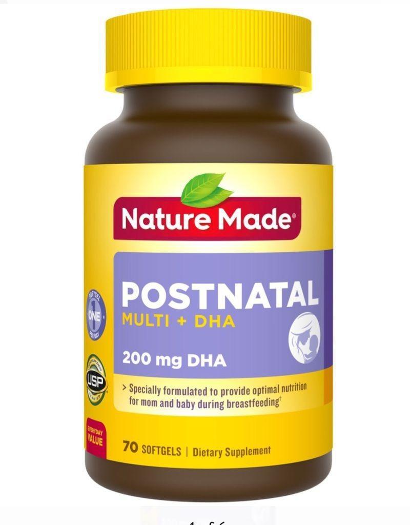 Viên uống cho phụ nữ cho con bú Nature Made Postnatal Multi DHA - 489.000đ