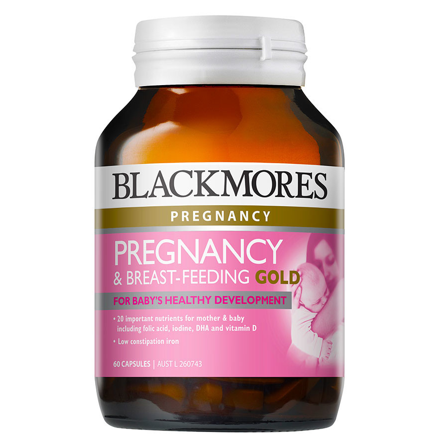 Thực Phẩm Chức Năng Blackmores Pregnancy and Breast Feeding Gold (60 viên) - 569.000đ