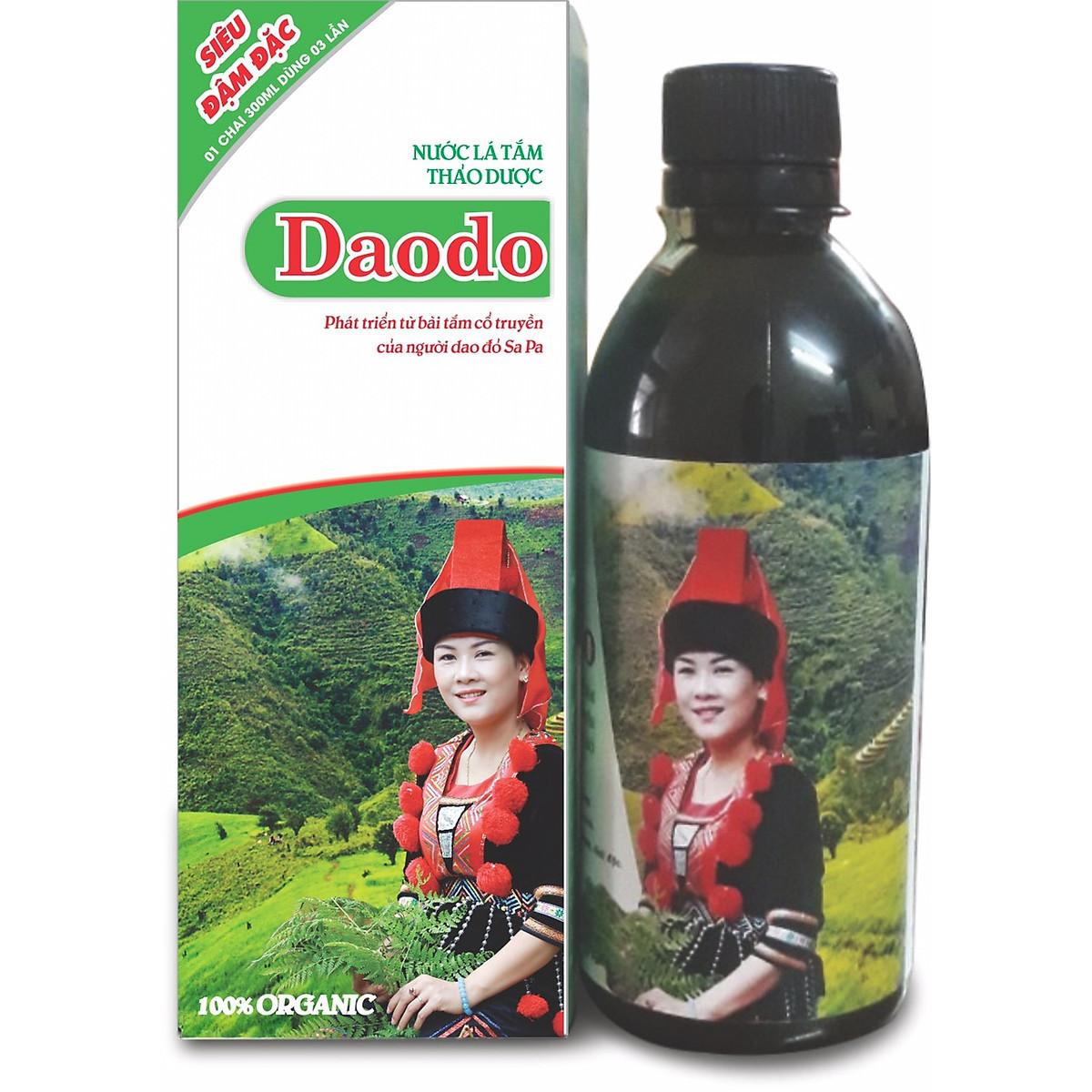 Nước tắm thảo dược của người Dao Đỏ Daodo cho bà mẹ sau sinh - 160.000đ