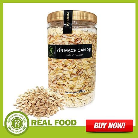 Yến mạch cán dẹt Real Food (400g) - 35.000đ