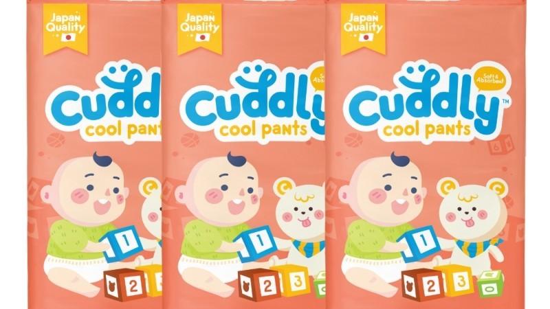 Cuddly Japanese Cool Pants Diaper XL