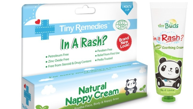 Tiny Buds Natural Nappy Cream 20g