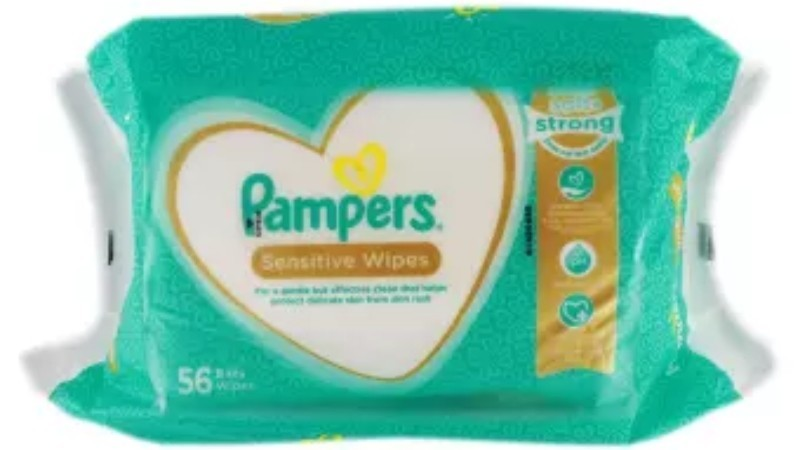Pampers Sensitive Wipes 2 packs