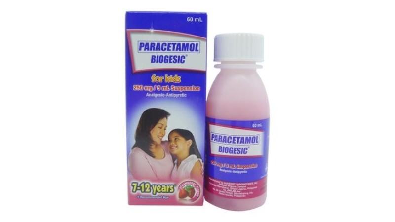 Biogesic Strawberry Flavor 120 mg