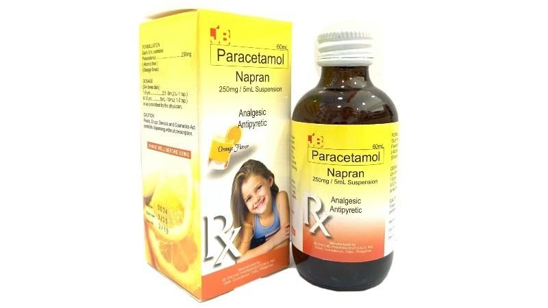 Paracetamol Napran 250mg/mL