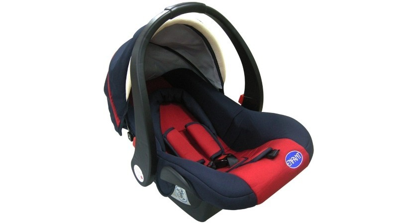 Enfant Baby Car Seat With Base (red)