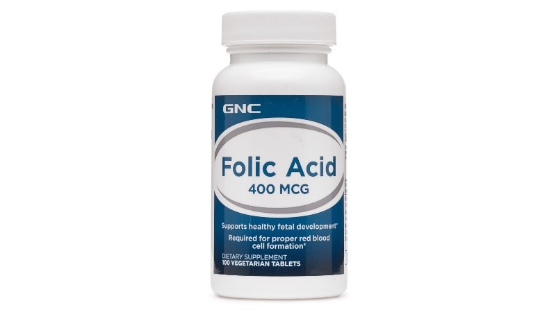 GNC Folic Acid 400mcg
