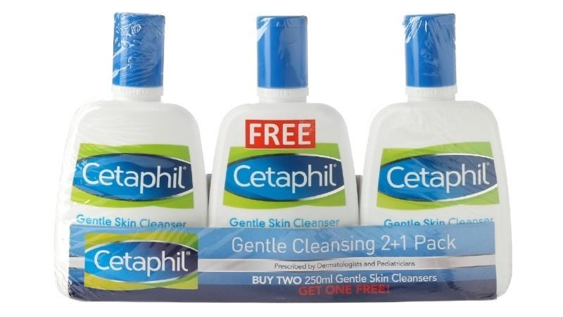 Cetaphil Gentle Skin Liquid Cleanser (Buy 2 Get 1)