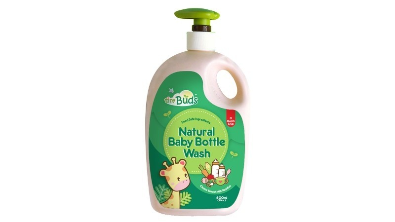 Tiny Buds Natural Baby Bottle Wash 600ml
