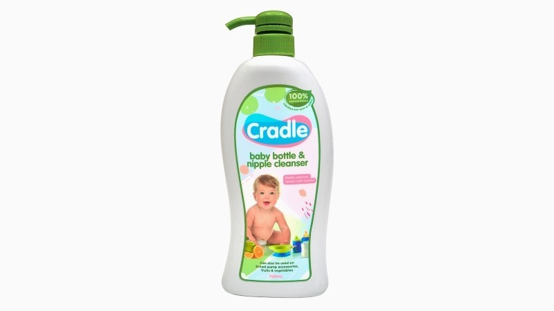 Cradle Baby Bottle And Nipple Cleaner 700ml