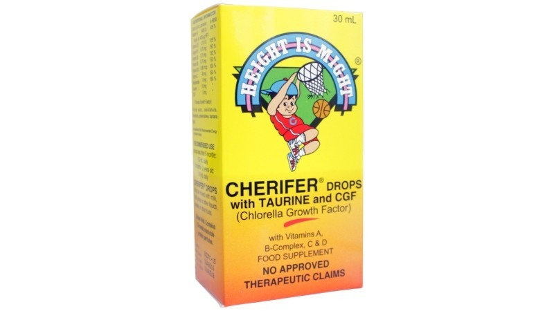 Cherifer Multivitamin with CGF with Taurine Drops 30mL