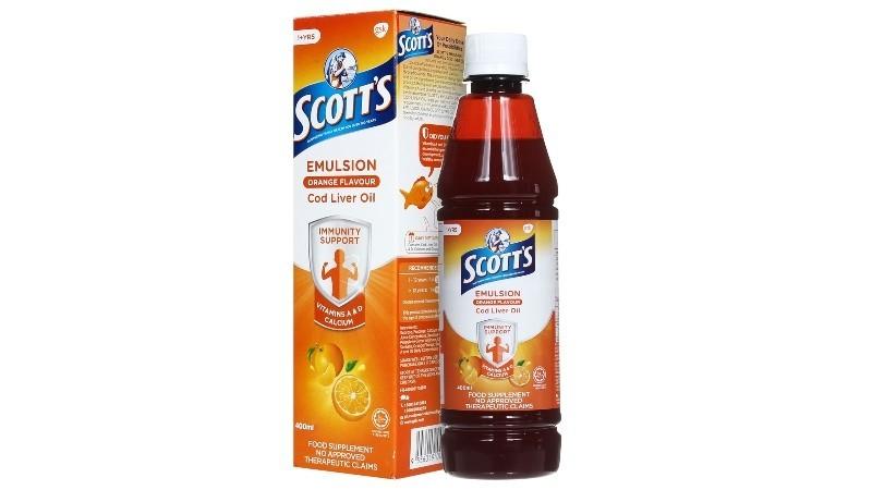 Scott's Emulsion Orange Flavour 400ml