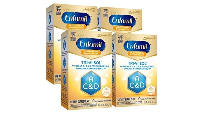 Enfamil Tri-Vi-Sol Vitamins A, C & D Supplement Drops 50 mL
