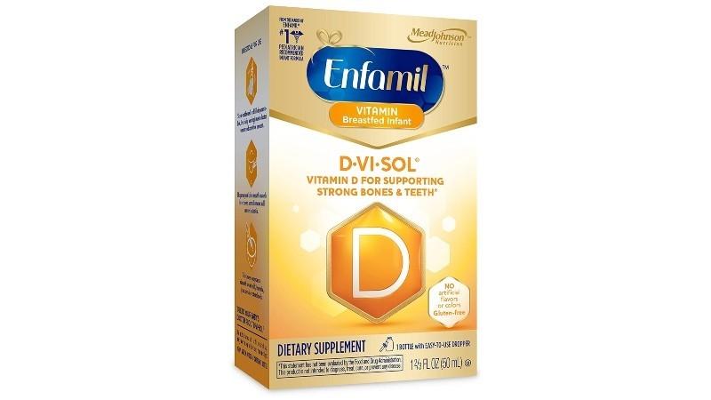 Enfamil D-Vi-Sol Vitamin D Supplement Drops