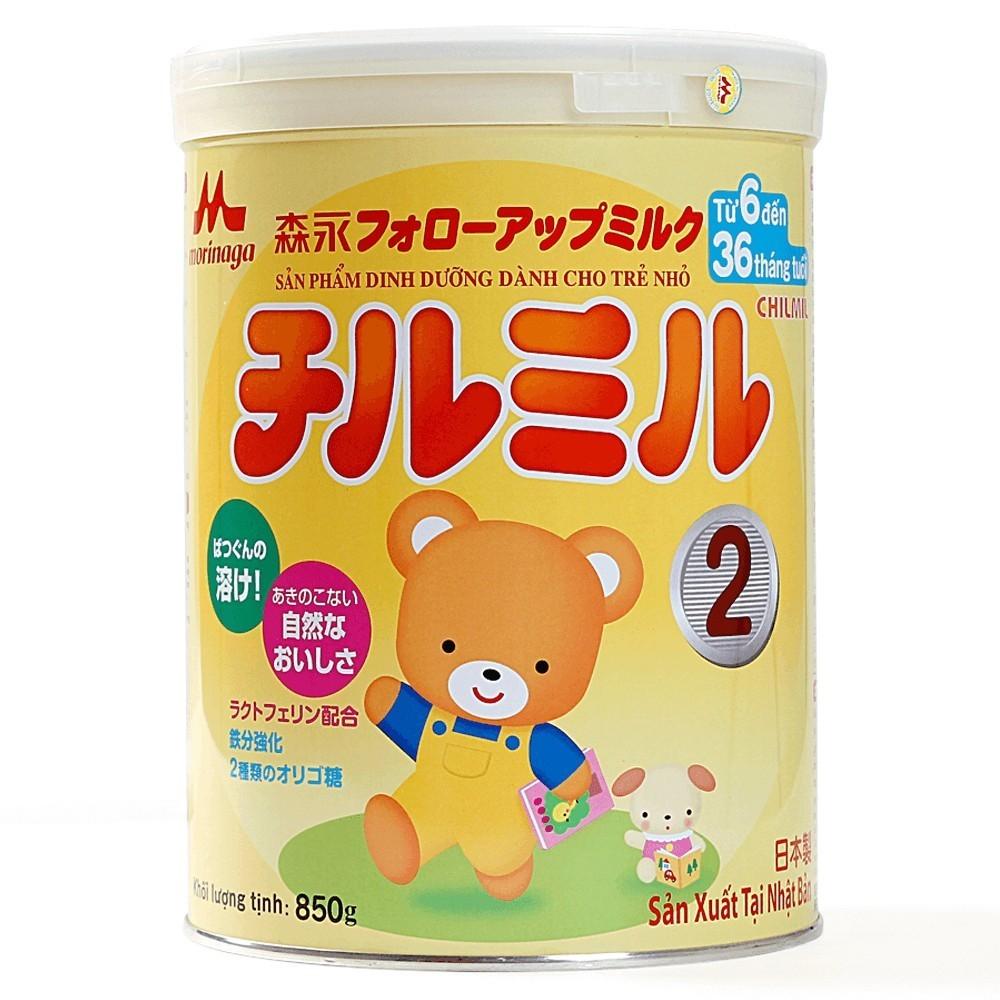 Sữa Morinaga Chilmil tăng chiều cao cho trẻ