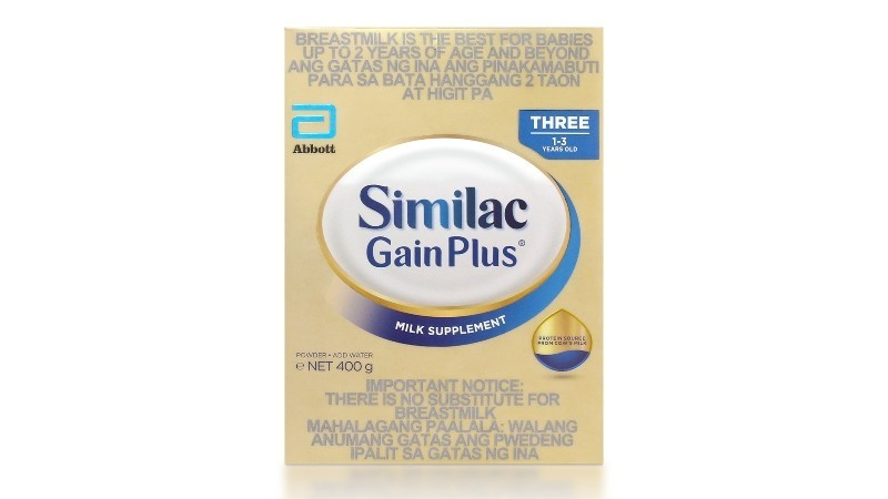 Similac Gainplus HMO 400g
