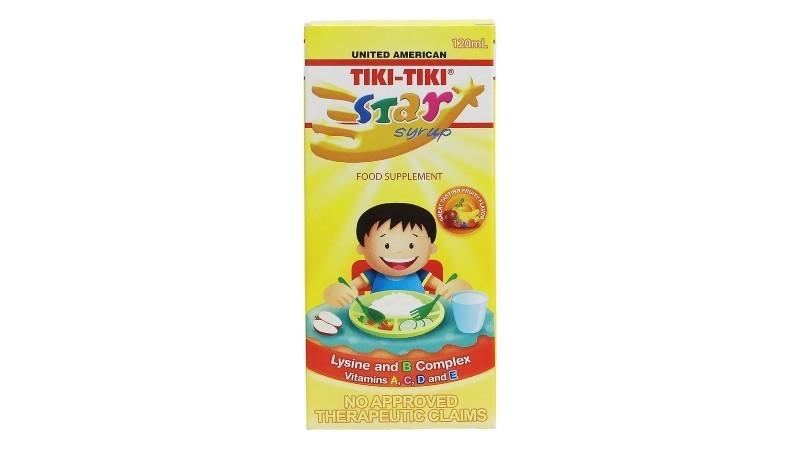 Tiki-Tiki Star Syrup 120ml