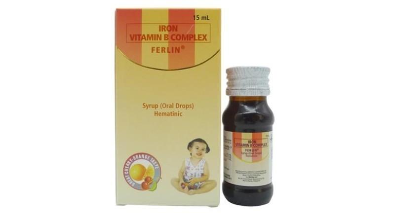 Ferlin Iron + Vitamin B Complex 15 ml