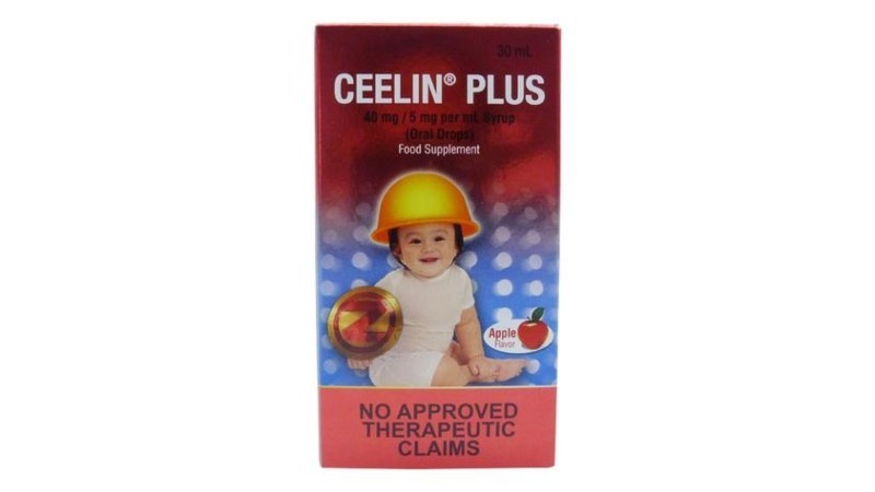 Ceelin Plus Drops Vitamin C + Zinc 30mL