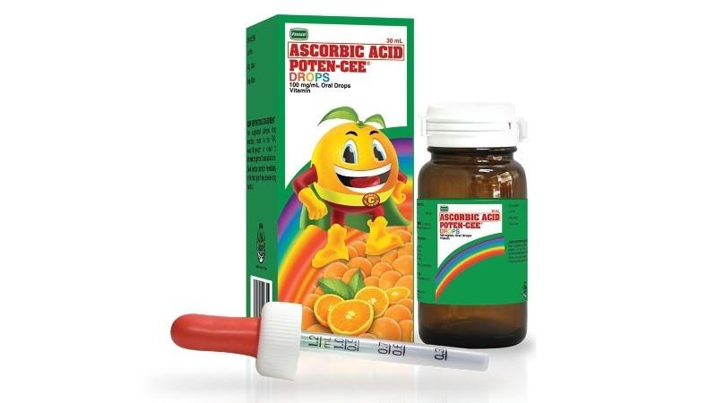 Poten-Cee Drops 30ml (Ascorbic Acid)