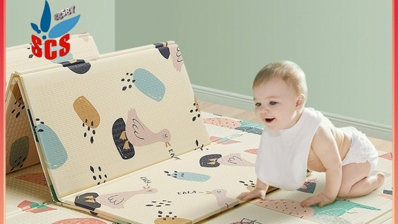 SCS Baby Foldable Play Mat