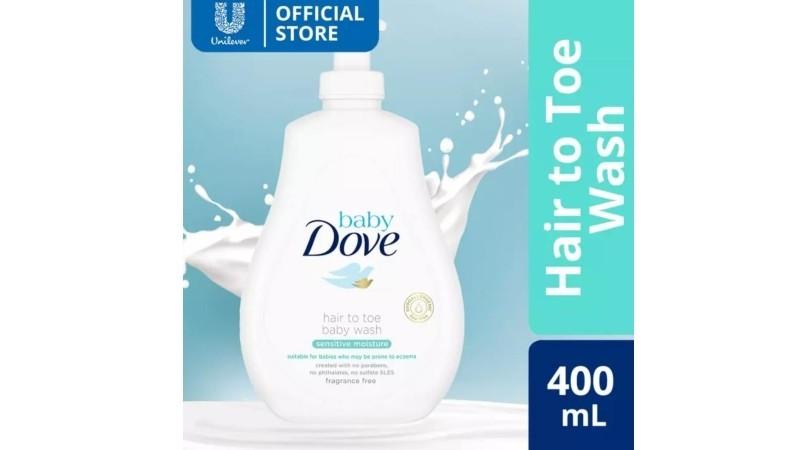 Baby Dove Hair to Toe Baby Wash Sensitive Moisture