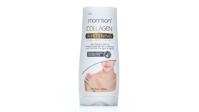 Morrison Collagen Whitening 2in1 Lotion with Free 1 Bellissima Soap