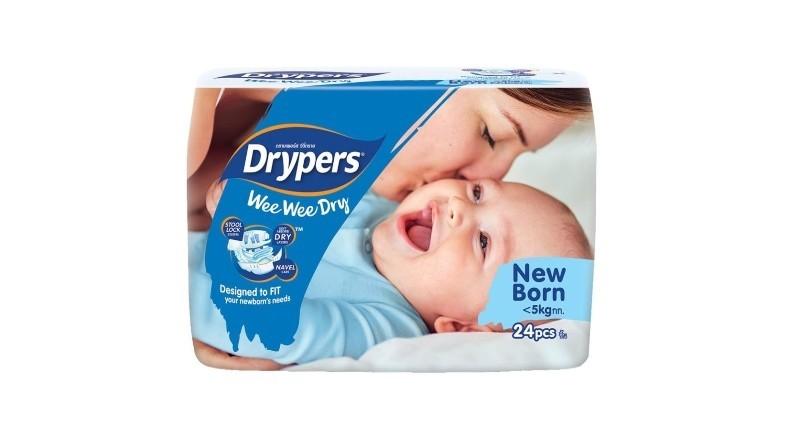 Drypers Wee Wee Dry Newborn 24 pcs
