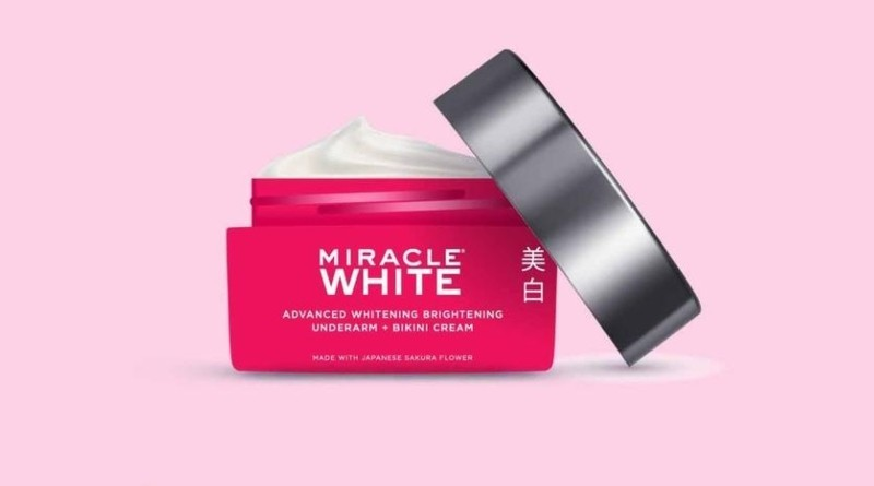 Miracle White Glutathione Underarm + Bikini Whitening Cream