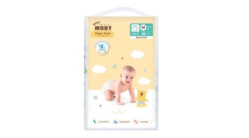 Baby Moby Chlorine Free Diaper Pants