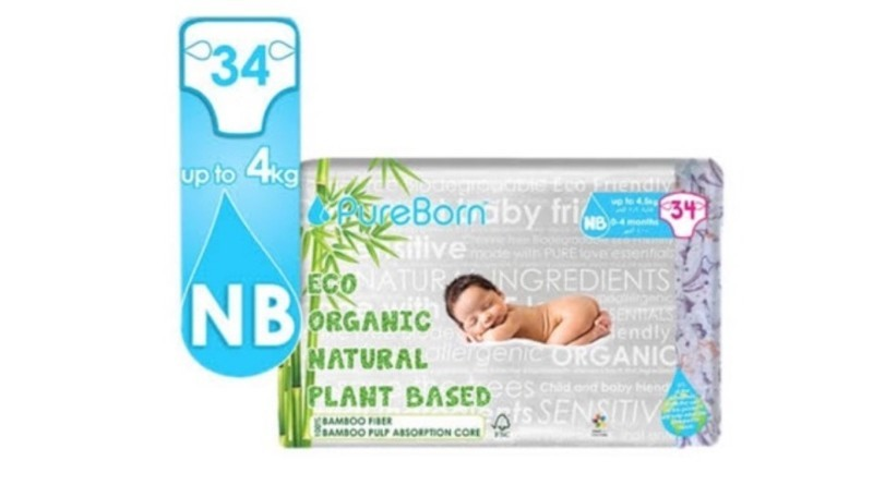 Pureborn Diapers Organic Diapers