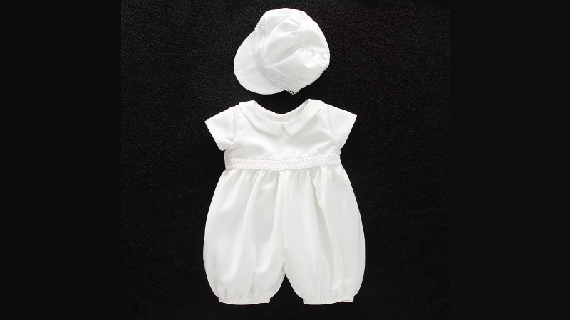 European Inspired Baptism Outfit Set