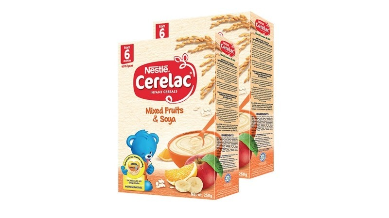 Cerelac Mixed Fruits & Soya Infant Cereal
